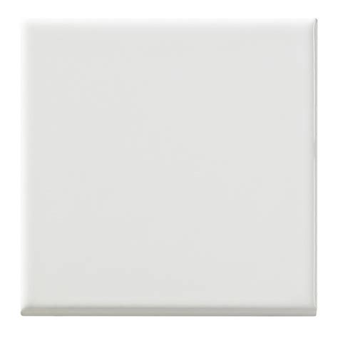 shop united states ceramic tile color white ceramic wall tile common 4 in x 4 in actual 4 in