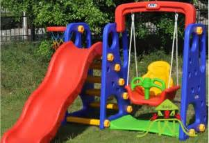 indoor play equipment baby swing seat kids slides outdoor garden playground equipment children