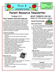 parent newsletter templates best photos of parent newsletter template elementary