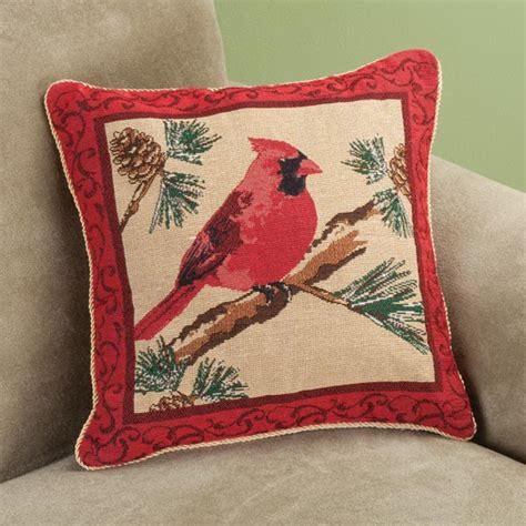 Cardinal Pillow by Cardinal Pillow Cover Decorative Pillow Cover
