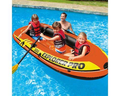 opblaasboot afdekzeil intex explorer pro 300 set opblaasboot intex