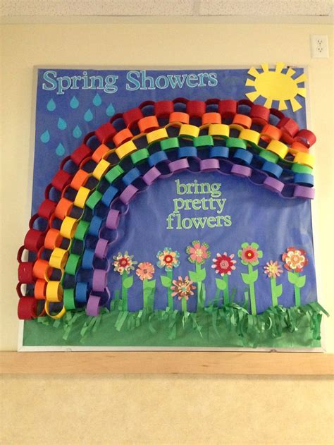 11 pinterest boards filled with hundreds of paint ideas spring bulletin board with rainbow crafts and worksheets