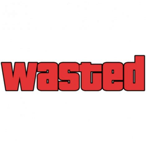 Grand Theft Auto 5 Logo Png by Wasted Gta Transparent Png Stickpng