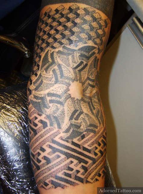 geometric tattoo quarter sleeve black geometric sleeve tattoo awesome tattoo ideas