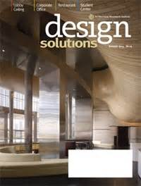 Design Solutions Journal Of The Architectural Woodwork Institute | awi design solutions magazine released woodworking network