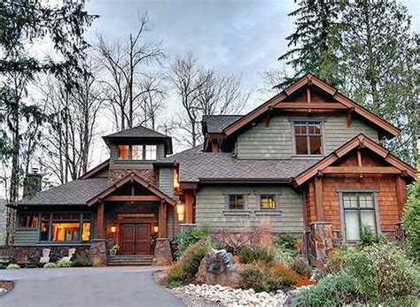 mountain home exteriors plan 23534jd 4 bedroom rustic retreat exterior colors