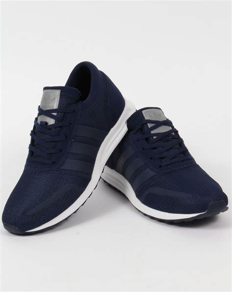 Adidas Nevy adidas los angeles trainers navy blue originals shoes mens