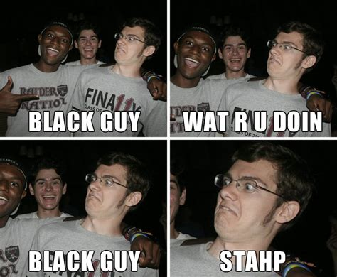 Sad Black Man Meme - happy black guy stahp know your meme