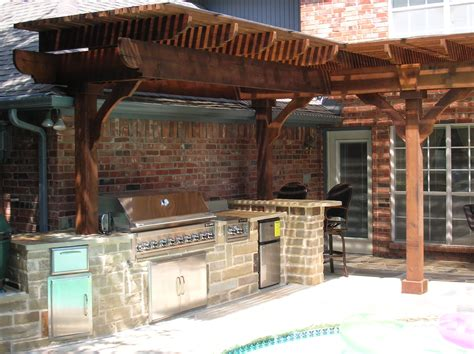 Outdoor Kitchen Arbor Image Gallery Outdoor Arbors