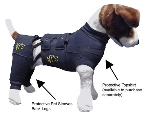 dogs back legs not working protective pet sleeve cover for back legs