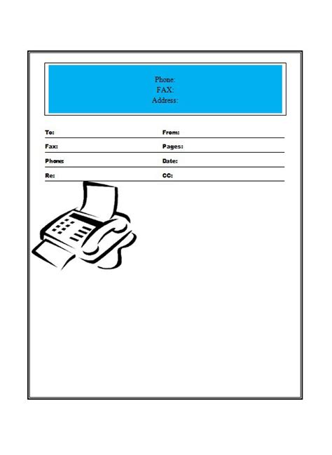 email cover sheet template 40 printable fax cover sheet templates template lab