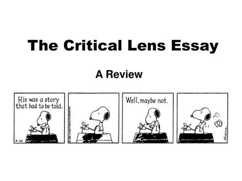 Exle Critical Lens Essay by Write Gender Criticism Essay 187 A Level Essay Help