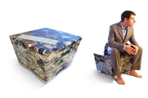 Make Electronic Trash Into Something New by Chilean Designer Rodrigo Alonso Creates N Ew Seats From