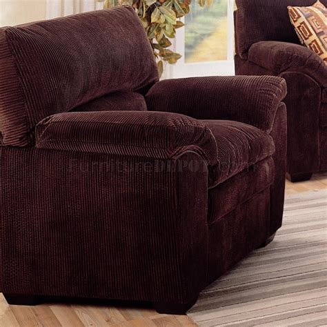 modern corduroy fabric living room 502521 chocolate