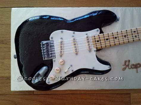 guitar templates for cakes coolest fender electric guitar cake