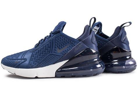nike air max 270 bleu marine junior chaussures enfant chausport