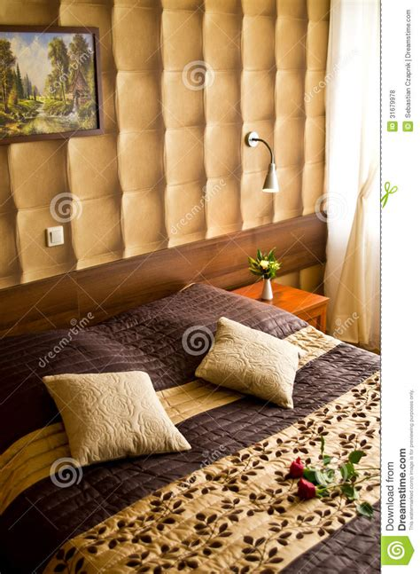 beige and brown bedroom beige and brown bedroom royalty free stock photos image
