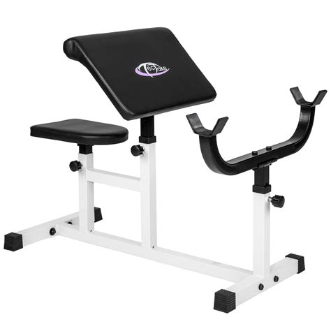 bicep curl bench preacher bicep arm curl bench training seated workout