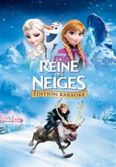 film disney la reine des neiges streaming la reine des neiges 201 dition karaok 233 vf film l 233 gal vod