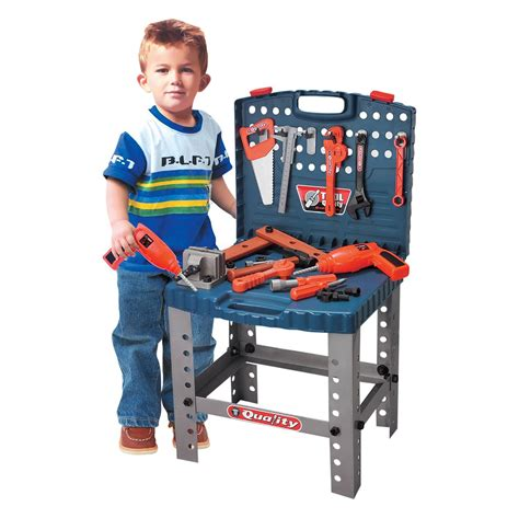 kids tool bench set childrens 54pc tool bench play set work shop tools kit