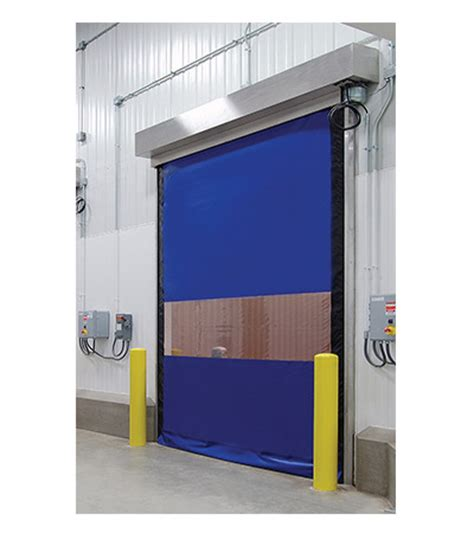 High Speed Roll Up Door by Enviro Fabric Roll Up Doors Cold Storage And Refrigerated Doors