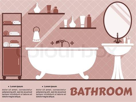 bathroom text bathroom interior design infographic with editable text