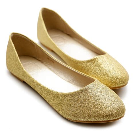 Flat Gold by Gold Flats For Gold Shoes For Flats