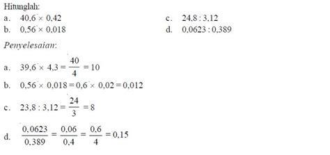 cara melihat kuota pembagian cara menghitung operasi perkalian dan pembagian pada