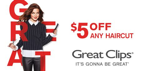 haircut coupons orlando great clips haircut coupon save 5 off any haircut