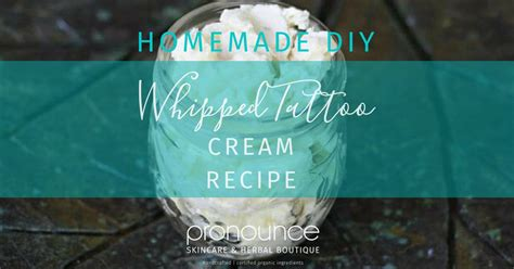 tattoo cream recipe diy whipped tattoo cream heals my new tattoos