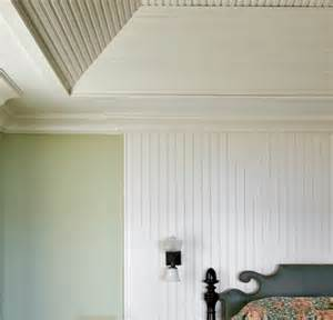 Horizontal Beadboard - decorating addiction hiding bad ceilings