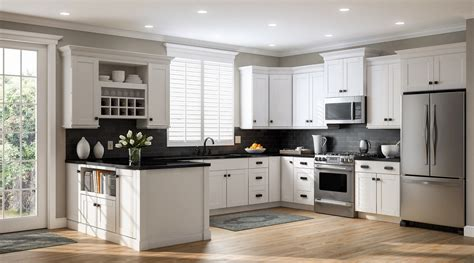 home depot kitchen cabinets white create customize your kitchen cabinets shaker wall
