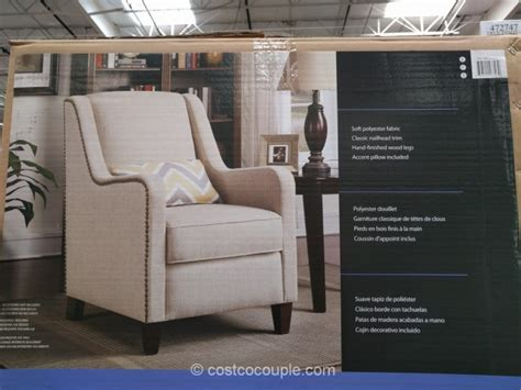 Costco Armchair by True Innovations Fabric Accent Chair