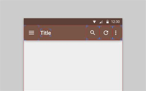 toolbar for android toolbar text size android