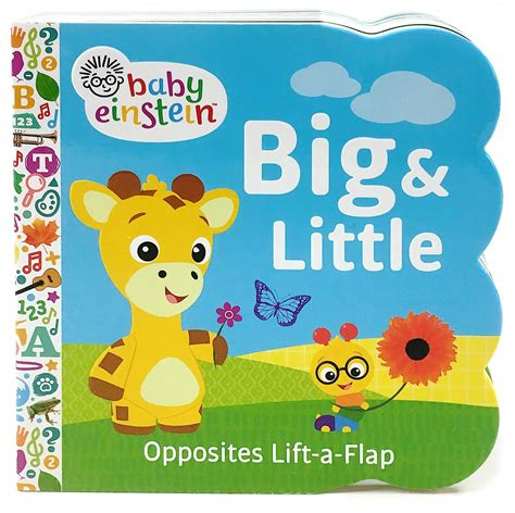 baby einstein big lift a flap children s book