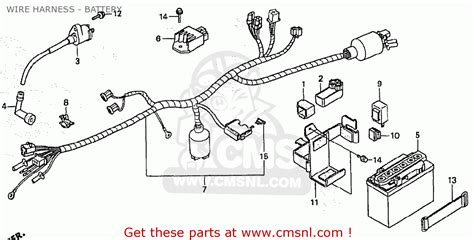 honda st70 electrical wiring diagram honda engine diagrams