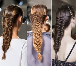2015 Braids Hairstyles 2015 Braided Hairstyles Inspired From The Runway