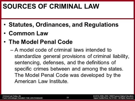 section 276 criminal code chapter 1 the nature and history of criminal law ppt