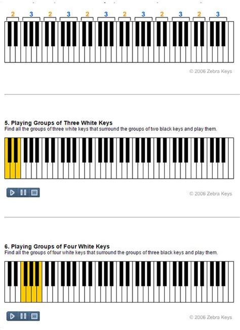 tutorial piano beginner 87 best images about 23 beginner piano lessons on