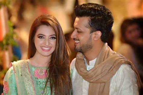atif aslam wife atif aslam wishes wife sara in a cute way reviewit pk