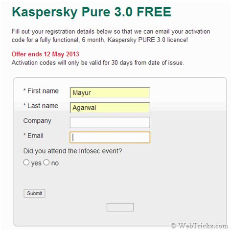 kaspersky pure 3 trial reset trick activation code for kaspersky antivirus 2013 trial autos
