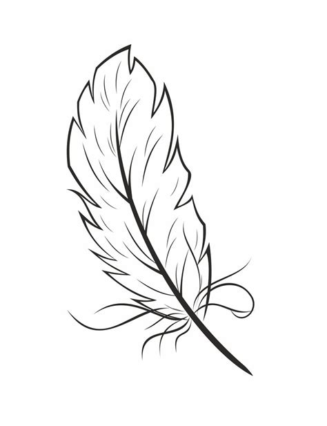 Feather Coloring Pages Feathers Coloring Page Az Coloring Pages