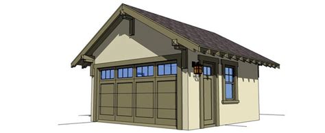 craftsman garage plans craftsman garage plan 67587