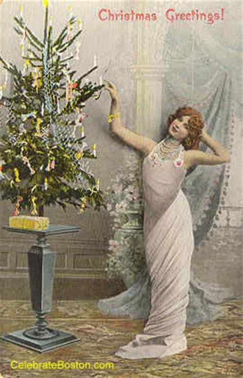 edwardian christmas day postcards