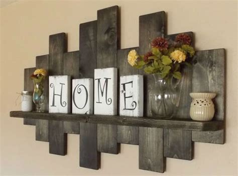 wooden art home decorations best 25 rustic wall shelves ideas on pinterest living