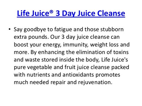 3 Day Fruit And Vegetable Detox Plan by Juice 3 Day Organic Fruit And Vegetable Juice Cleanse