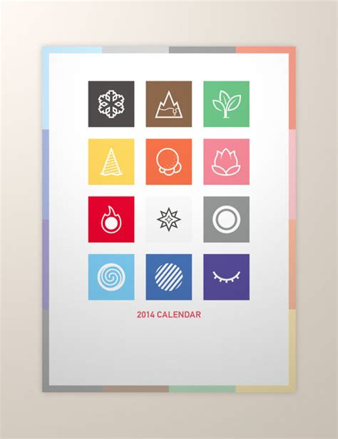 design calendar simple 25 new year 2014 wall desk calendar designs for inspiration
