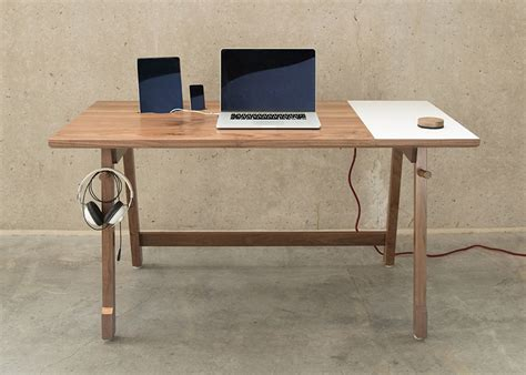 Modern Simple Desk Artifox S Simple Desk 01 Designed For Modern Day Needs Core77