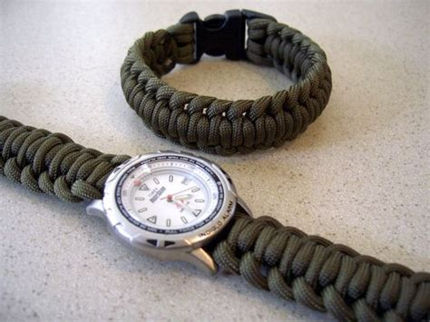 Paracord Watchband/bracelet With a Side Release Buckle: 9 Steps (with Pictures)