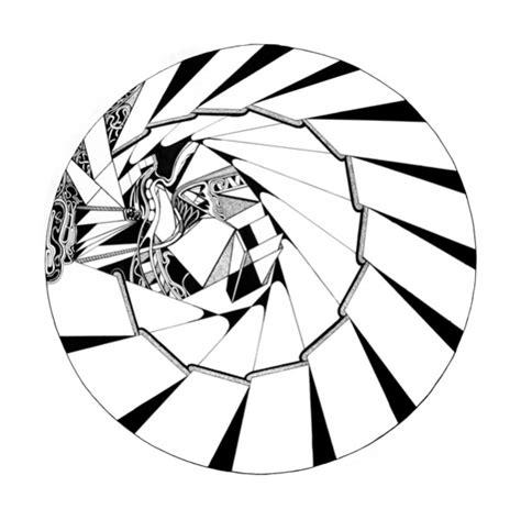 C Drawing Circle by Robert Circle Drawings 1978